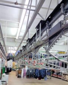Older style garment sort system